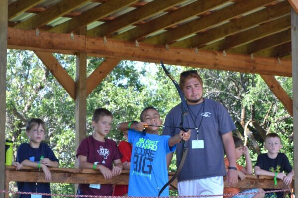 Summer Camps learning archery